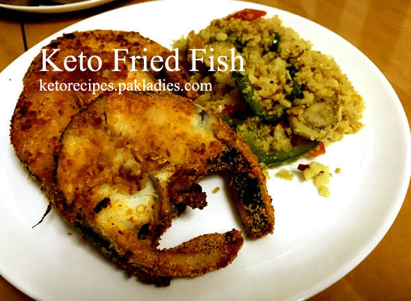 Keto Fried Fish