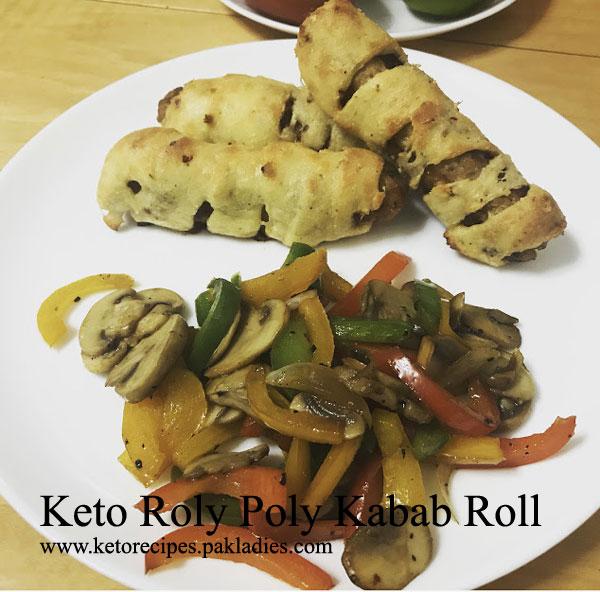 Keto Roly Poly Kabab
