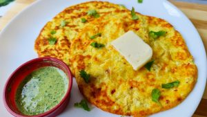 keto cheese paratha
