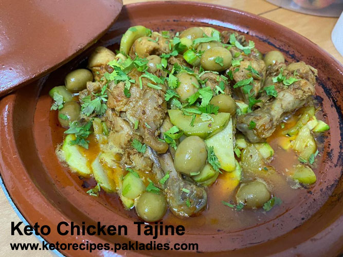 Keto Chicken Tajine